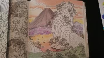 Les carrés d'art thérapie Japon (2)