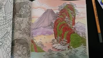 Les carrés d'art thérapie Japon (3)