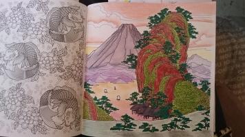 Les carrés d'art thérapie Japon (4)