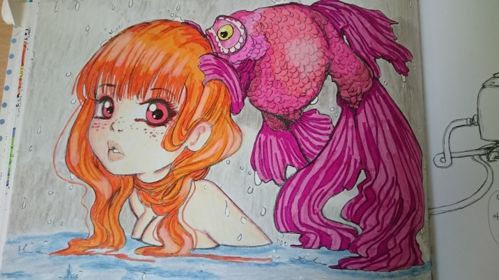 Pop Manga Coloring Book (4)
