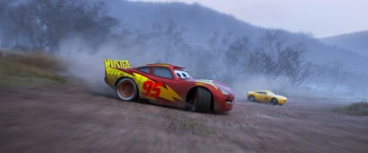 CARS 3 - (L-R) Lightning McQueen and Cruz Ramirez. ©2017 Disney•Pixar. All Rights Reserved.