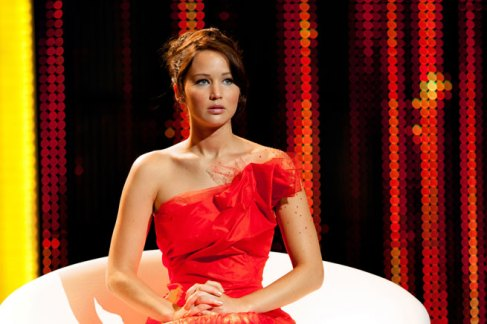 Jennifer Lawrence Hunger Games gown