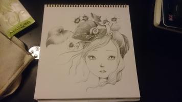 La Fille aux escargots (1)