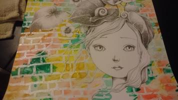 La Fille aux escargots (3)