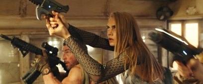 Cara Delevingne stars in VALERIAN AND THE CITY OF A THOUSAND PLANETS Photo courtesy of STX Films and Europacorp