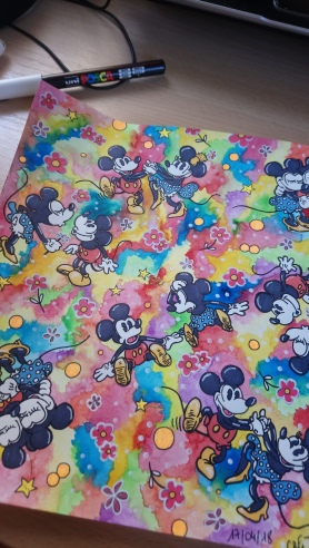 Mickey & Minnie (Retro) (5)