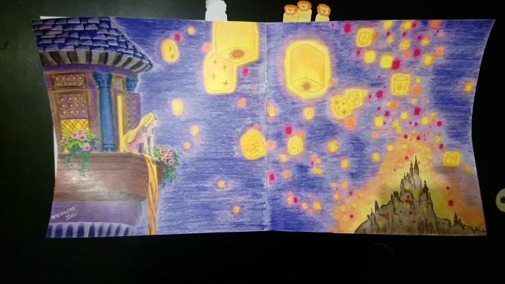 Raiponce et l'envol des lanternes (1)