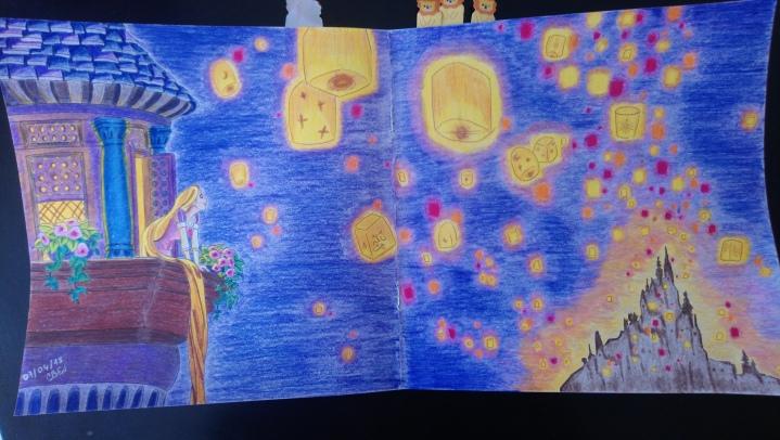 Raiponce et l'envol des lanternes (2)