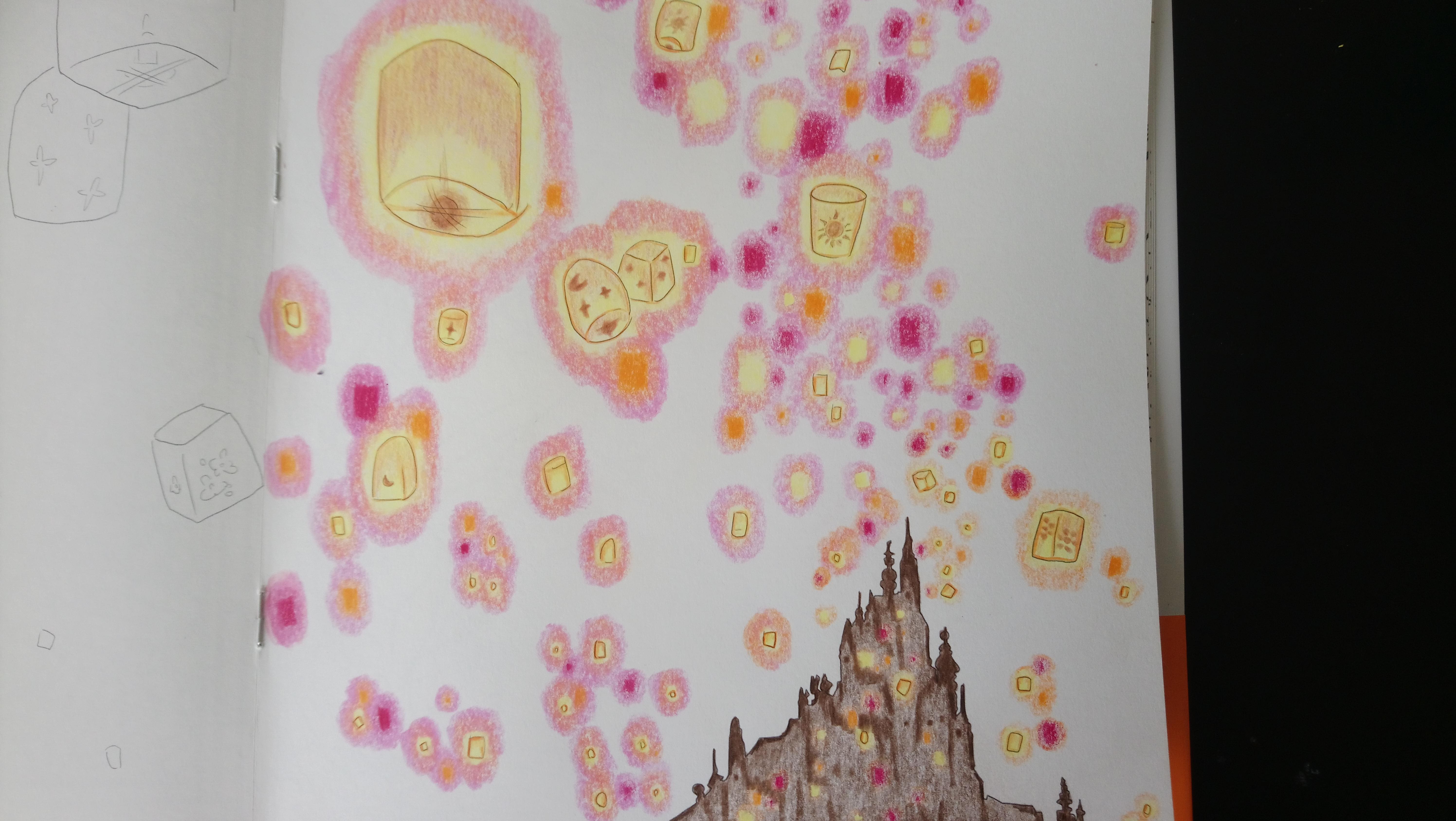 Raiponce et l\'Envol de Lanternes – Le Monde Créatif de Maëlia