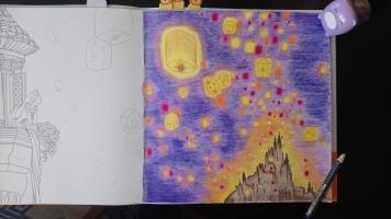 Raiponce et l'envol des lanternes (5)