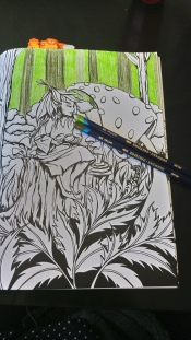Tableau forestier fantastique (1)