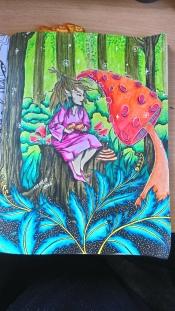 Tableau forestier fantastique (11)