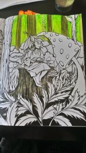 Tableau forestier fantastique (2)