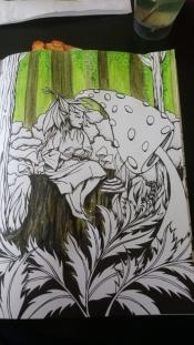 Tableau forestier fantastique (3)