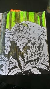 Tableau forestier fantastique (4)