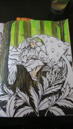 Tableau forestier fantastique (5)
