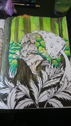 Tableau forestier fantastique (6)