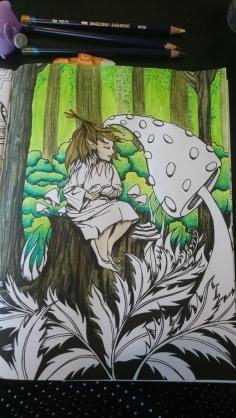 Tableau forestier fantastique (7)