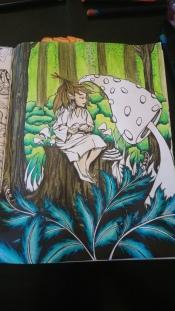 Tableau forestier fantastique (8)