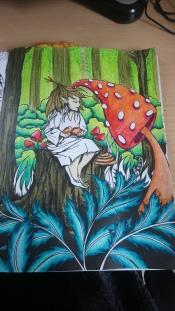 Tableau forestier fantastique (9)