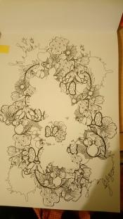 Minnie toute fleurie (1)