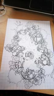 Minnie toute fleurie (2)
